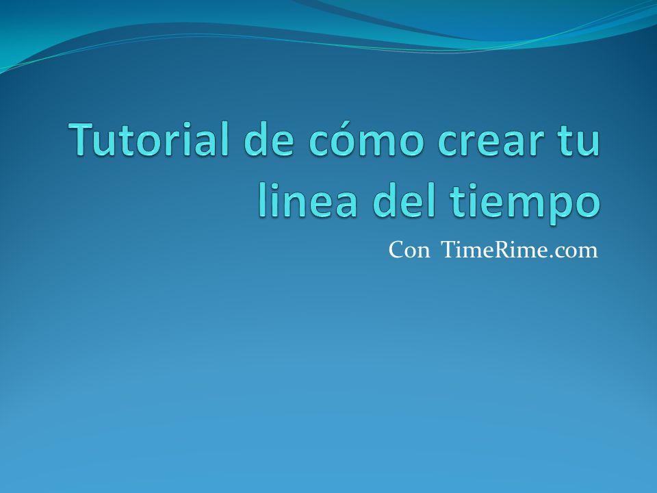 Accede a la pagina TimeRime.com