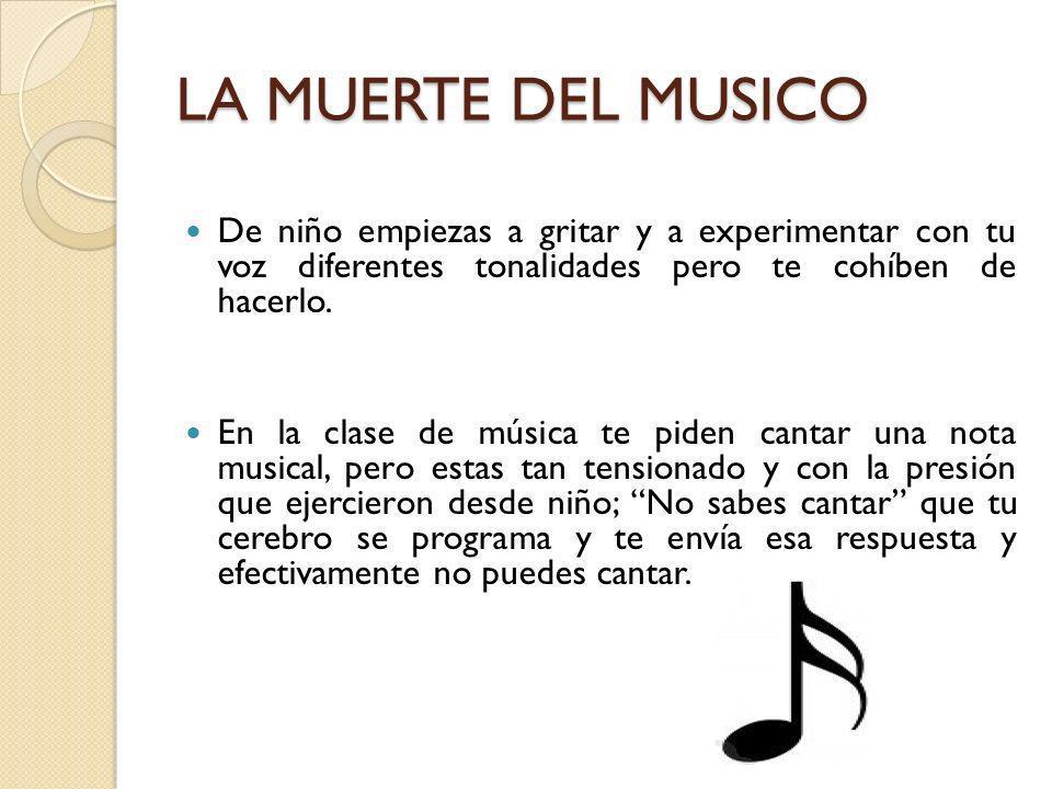 EL RENACER DEL MUSICO LAS AVES CANORAS El cerebro del ser humano esta en la capacidad de imitar sonidos.