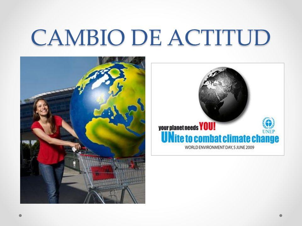CAMBIO DE ACTITUD