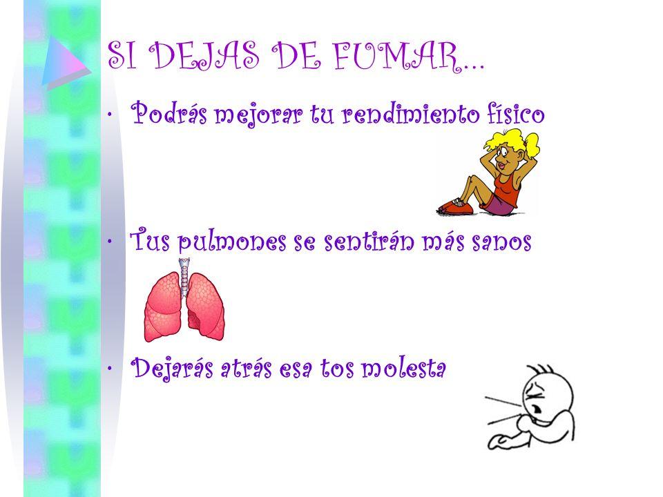 CAMBIÁ TU VIDA ¡DEJÁ DE FUMAR!