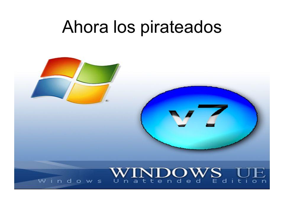 Ahora los pirateados