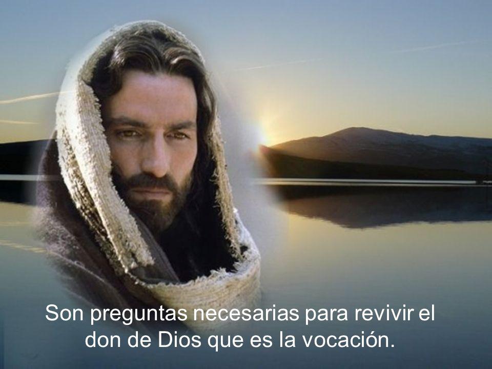 Son diversos los caminos que el Señor ha empleado para hacernos oír su voz: En cuanto descubrí que existía Dios, comprendí que sólo podía vivir buscándolo .