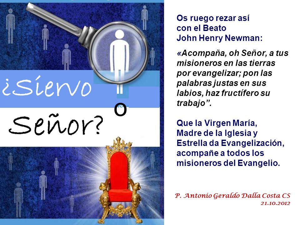 También en las Iglesias en los territorios de misión, iglesias en su mayoría jóvenes, frecuentemente de reciente creación, el carácter misionero se ha