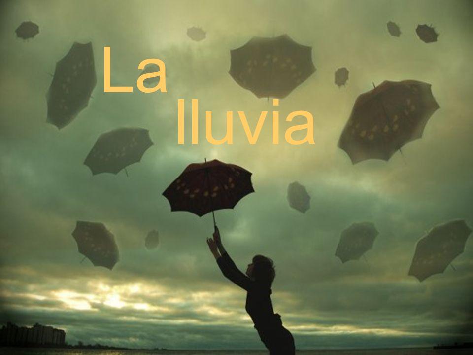 A mala lluvia, buen paraguas.