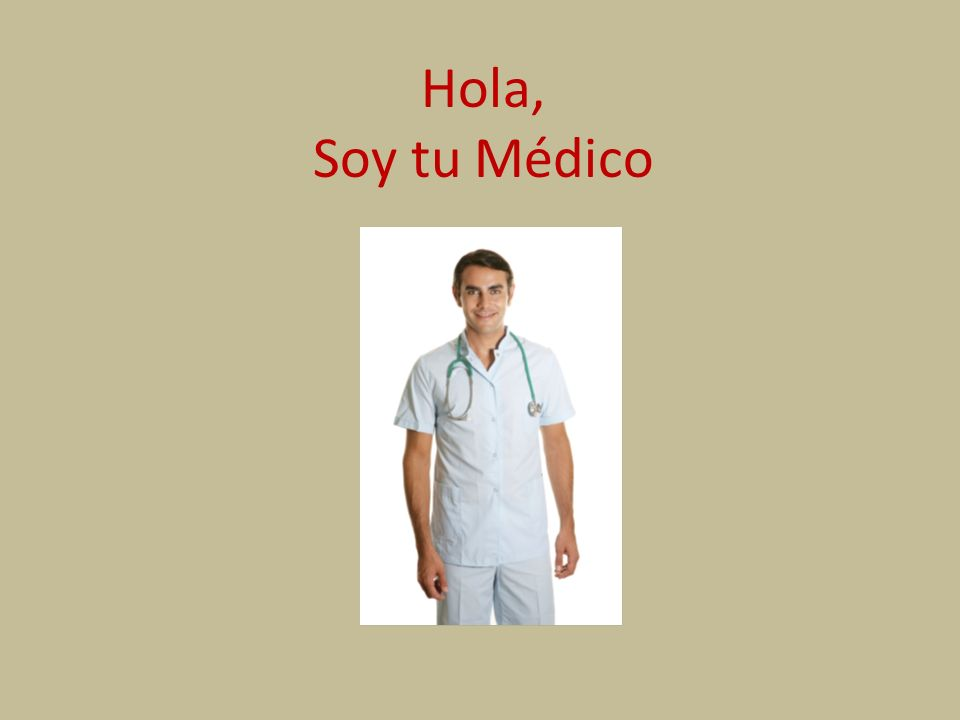 Hola, Soy tu Médico