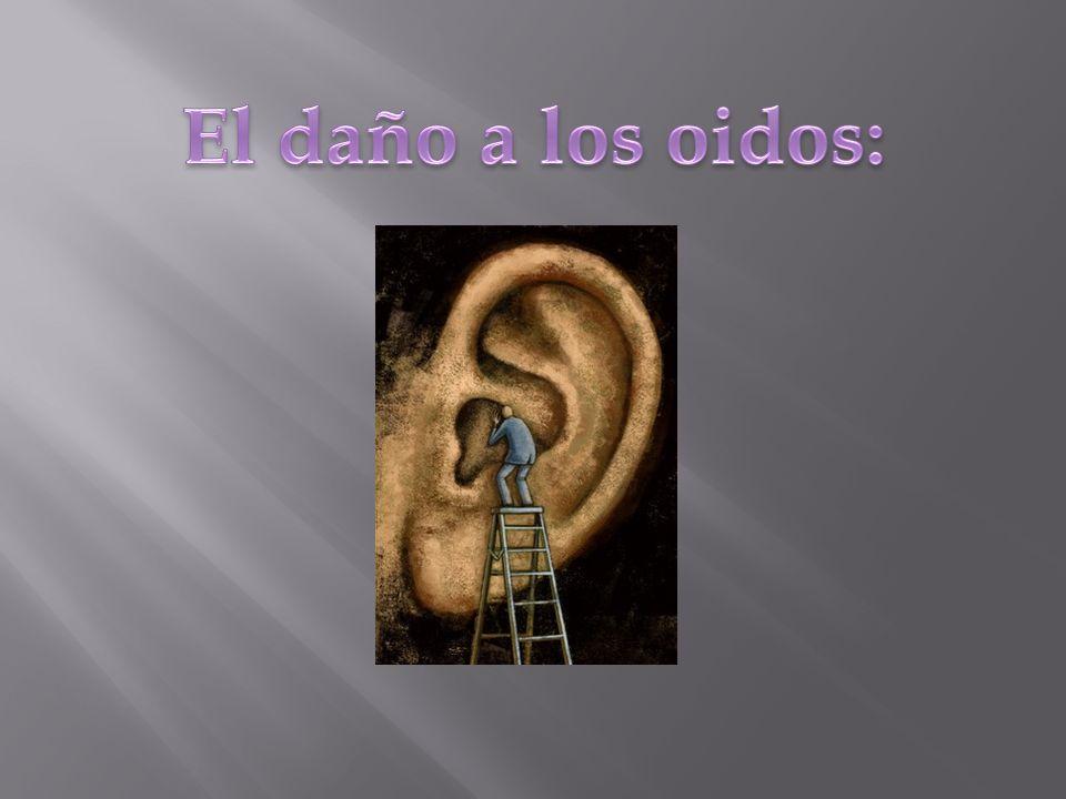 La intensidad de los distintos ruidos se mide en decibeles (dB), y se sabe que el oído humano puede percibir adecuadamente sonidos de hasta 120 dB; sin embargo, las emisiones prolongadas que sobrepasan los 85dB son capaces de generar alteraciones psicológicas y daños físicos en el oído, que además de ser el órgano de la audición interviene directamente en el equilibrio.
