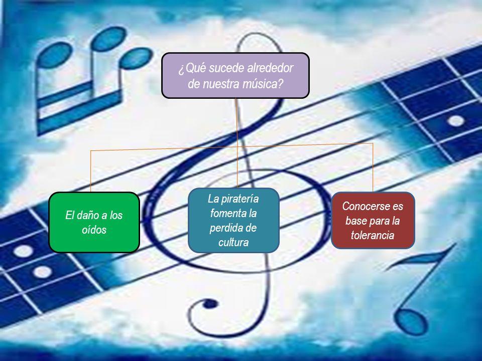 ¿Qué sucede alrededor de nuestra música.