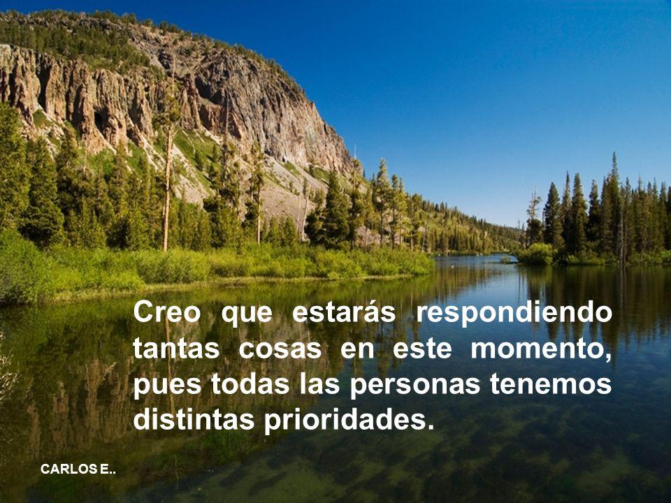 CARLOS E..