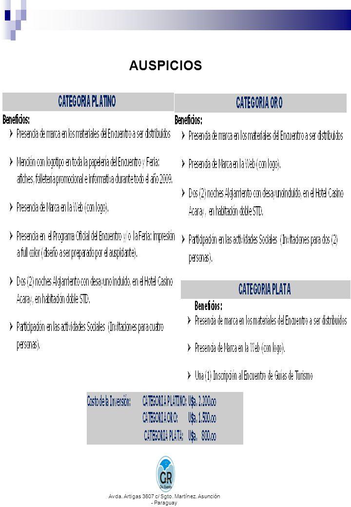 CONTACTOS E INFORMES Regional Alto Paraná APGT Tel.: 595 61 518408 - 595 981 177458 - 595 983 618802 E-mail: apgt.ap@tigo.com.py barolconsultora@gmail.com Dirección: Avda.