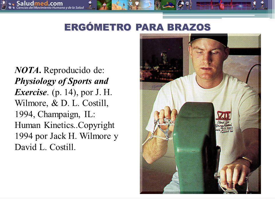 Copyright © 2013 Edgar Lopategui Corsino | Saludmed ERGÓMETRO PARA BRAZOS NOTA.