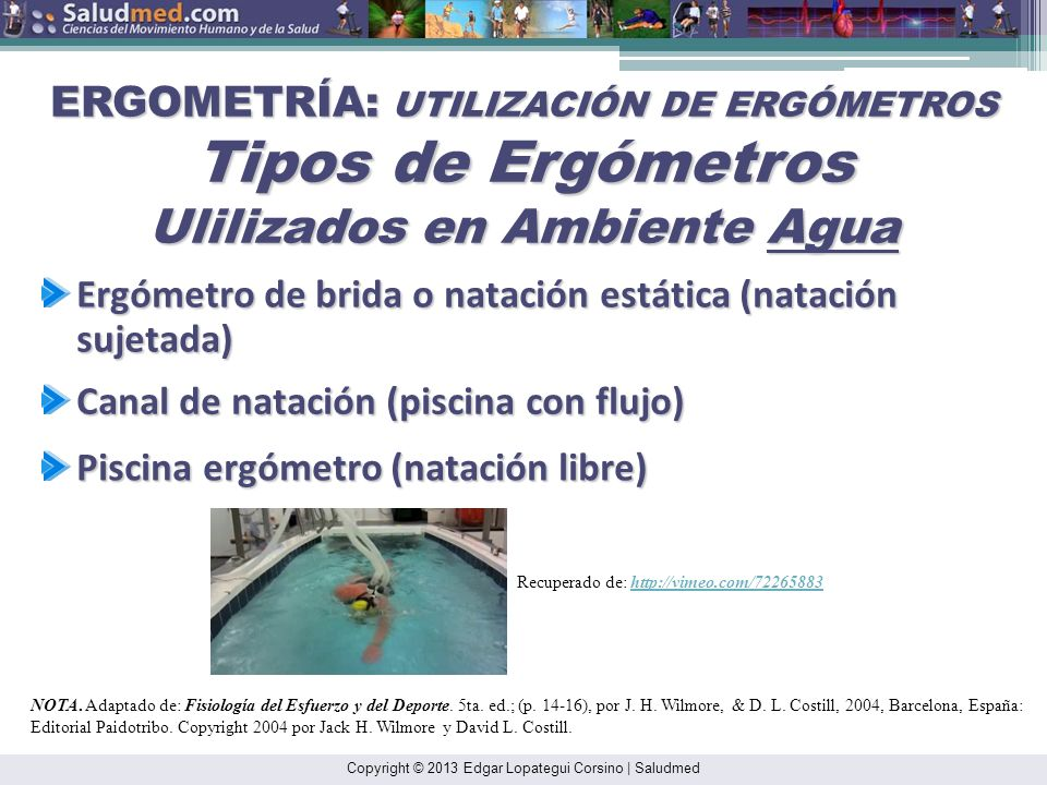 Copyright © 2013 Edgar Lopategui Corsino | Saludmed NOTA. Reproducido de: Physiology of Sports and Exercise. (p. 14 ), por J. H. Wilmore, & D. L. Cost