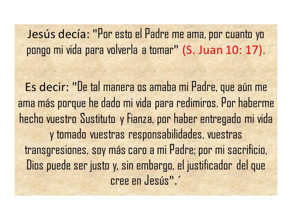 Jesús decía: