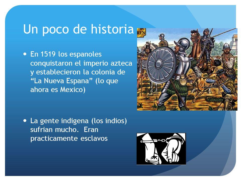 Las palabras del Grito Mexicanos.