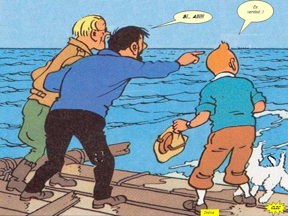 CLIC Dejar asesinato para más tarde… hay un barco a la vista ¿Dónde… como…? …Cuando… Por qué? CLIC Indice