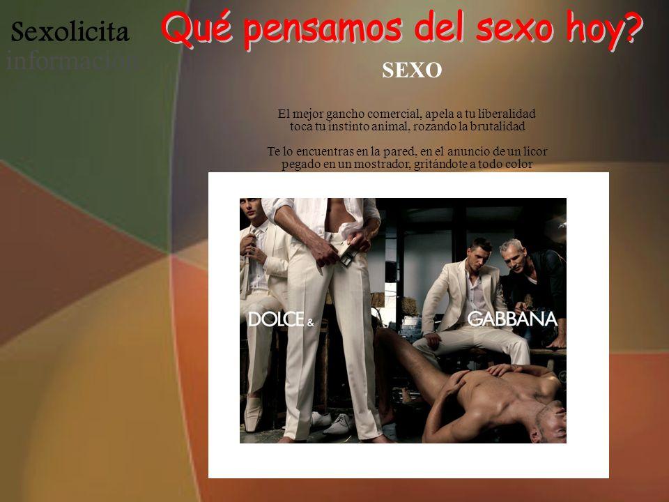 Sexolicita informació n La educación sexual ya no se da en la escuela De la moda.
