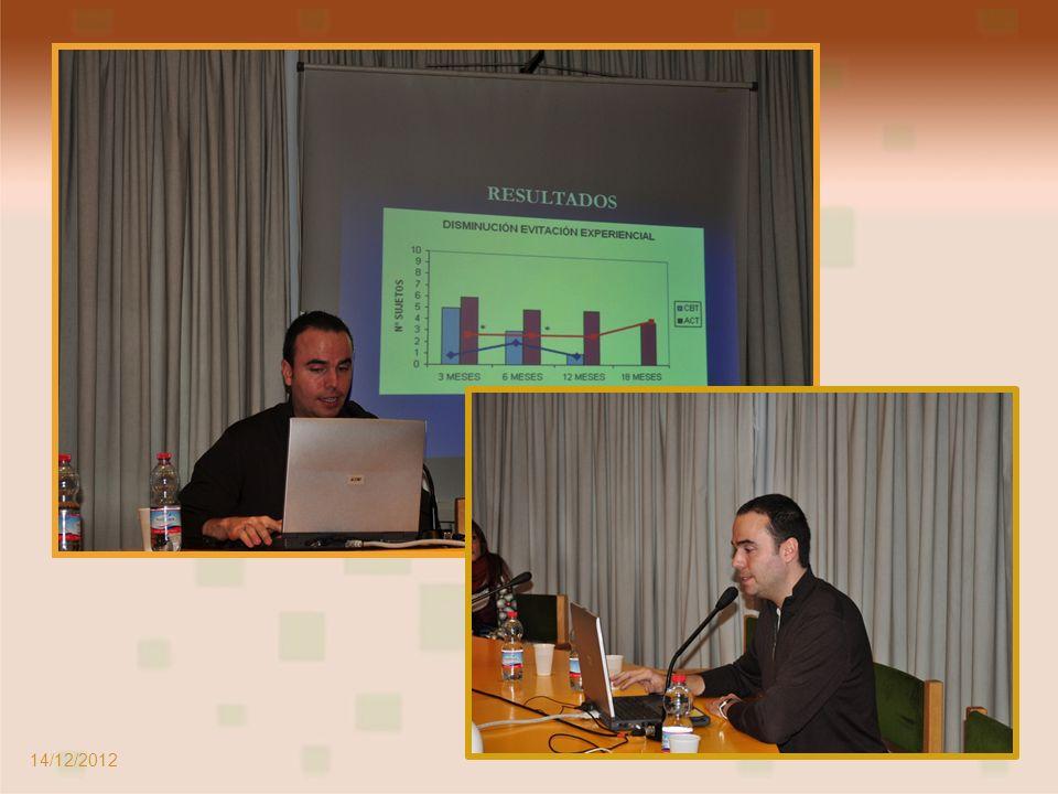 Ponente: Juan Fernández Psicólogo, Director del Centro de Día y EASC de Alcalá 14/12/2012