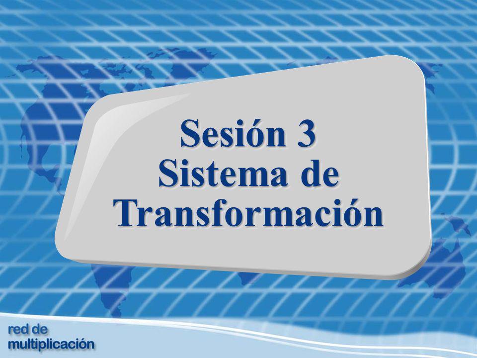 Sesión 3 Sistema de Transformación Sesión 3 Sistema de Transformación