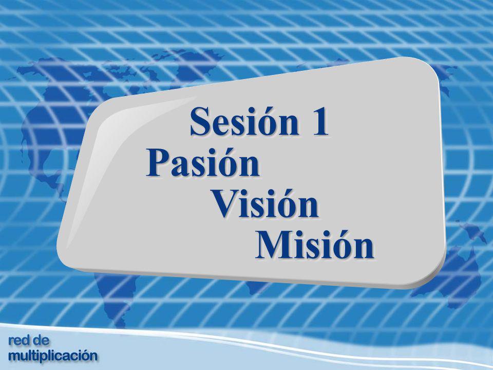 Sesión 1 Pasión Visión VisiónMisión Sesión 1 Pasión Visión VisiónMisión