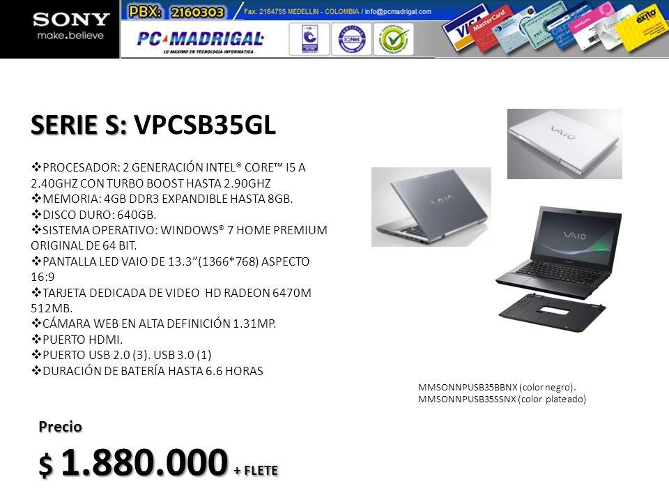MPSONNCVSX21BCDB (color negro) MPSONNCVSX21SCDB (color plateado) Precio $ 512.000 IVA Incluido VIDEOCÁMARA DE DEFINICIÓN ESTÁNDAR LIGERA Y COMPACTA MODO DE GRABACION SD Y MEMORY STICK OPCIONAL ZOOM ÓPTICO DE 57X EXTENDIDO DE 67X LCD DE 6,7 CM (2,7 PULGADAS) DETECCIÓN FACIAL STEADYSHOT PARA CAPTURAR IMÁGENES CLARAS Y ESTABLES MODO AUTOMÁTICO INTELIGENTE PARA OBTENER RESULTADOS FANTÁSTICOS EN CADA ESCENA Cámara Video: HCR-SX21 Incluye Tarjeta 4Gb