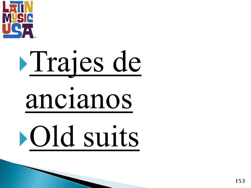 Trajes de ancianos Old suits 153