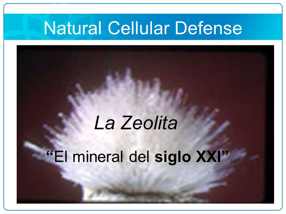 Natural Cellular Defense NATURAL CELULAR DEFENSA La Zeolita El mineral del siglo XXI.