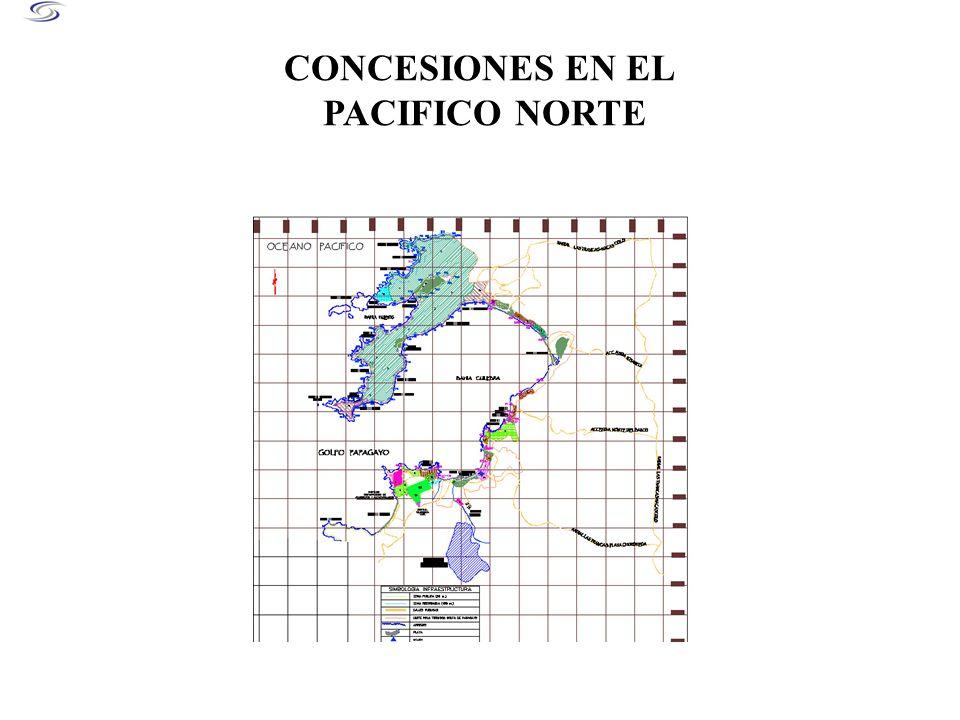 CONCESIONES EN EL PACIFICO NORTE