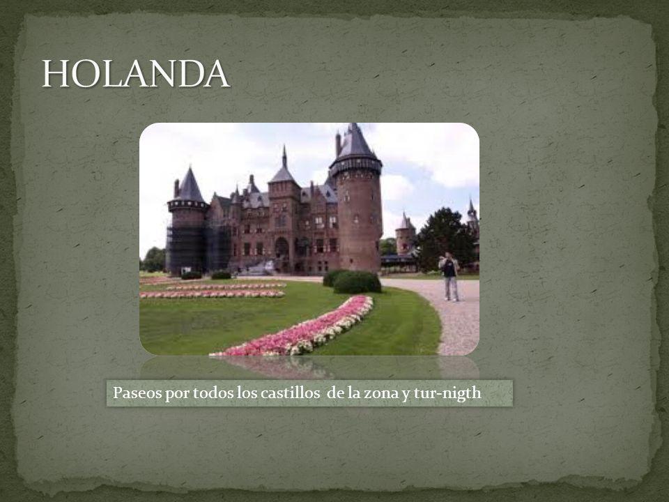 Paseos por todos los castillos de la zona y tur-nigth