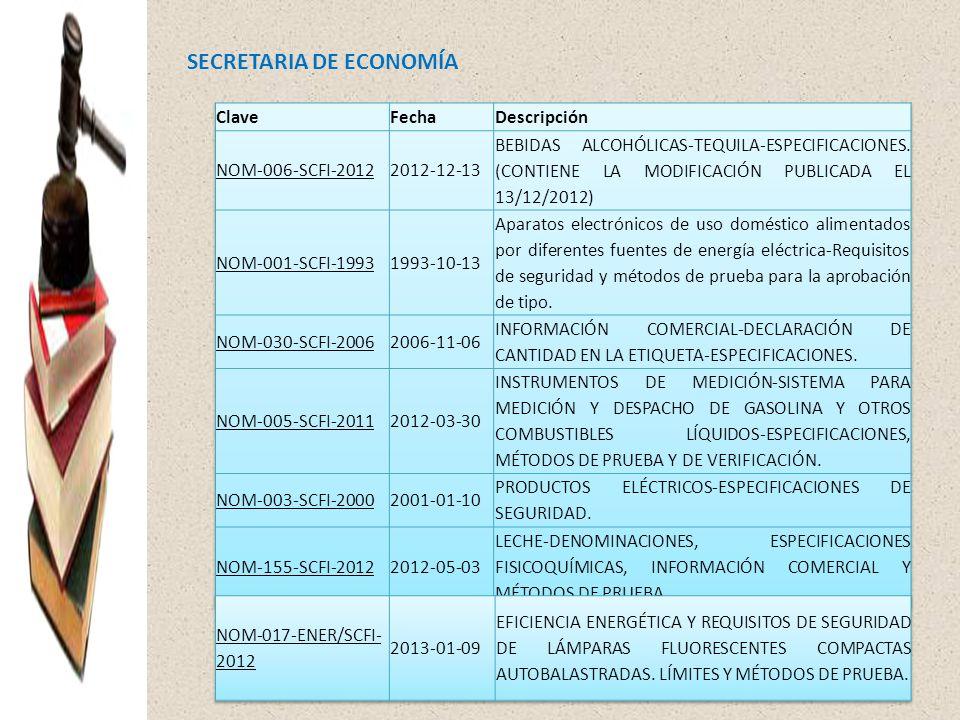SECRETARIA DE ECONOMÍA