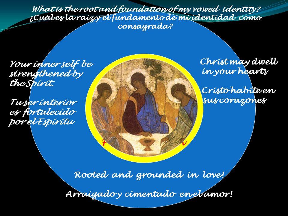 VOWED IDENTITY IDENTIDAD CONSAGRADA Being chaste like Jesus.