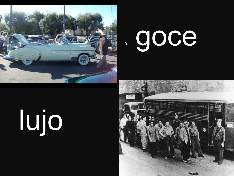 lujo Y goce