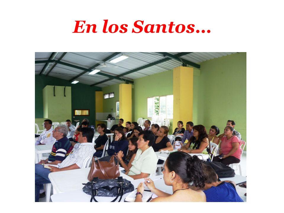 En los Santos…