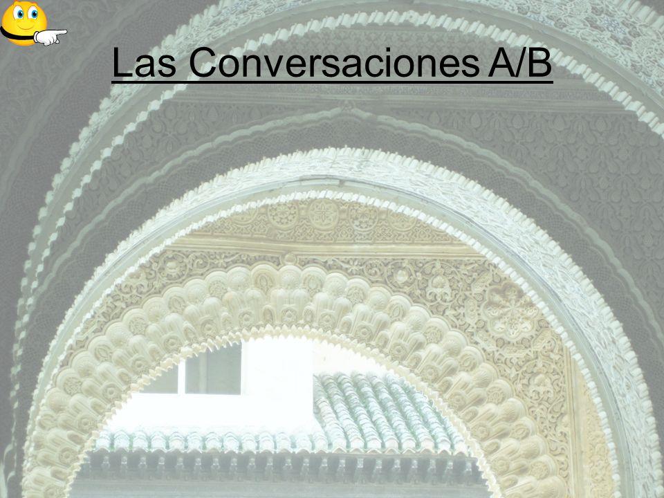 Las Conversaciones A/B