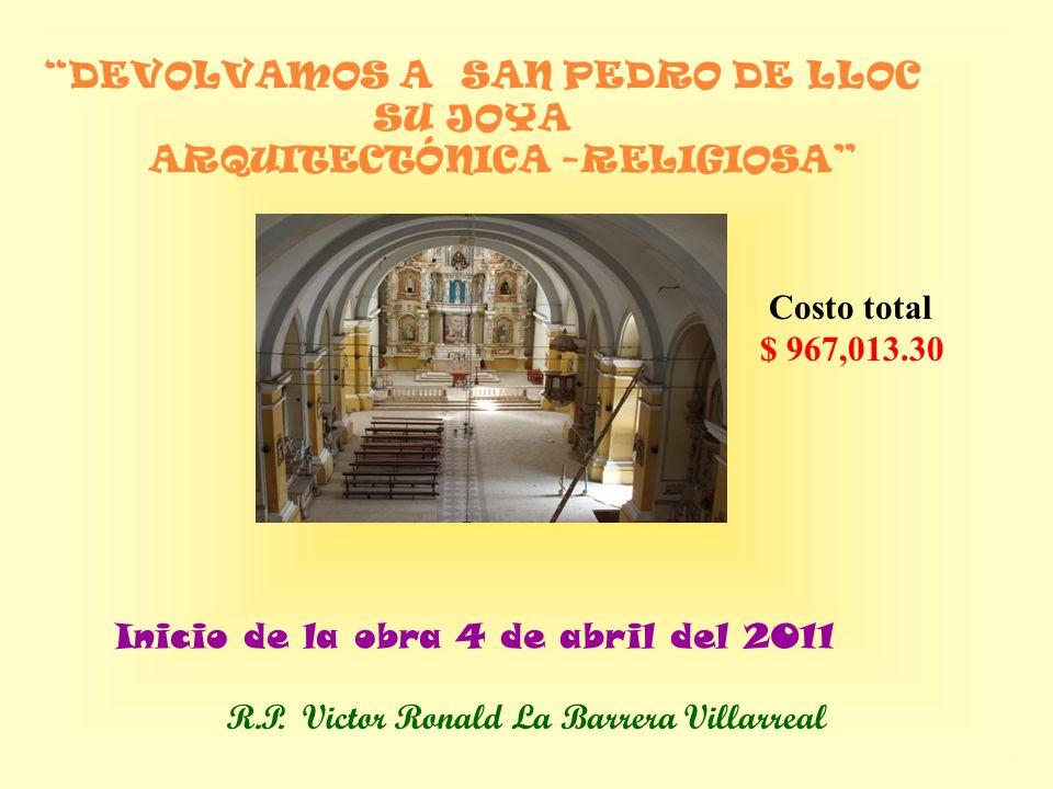 De San Pedro de Lloc monumento arquitectónico del S.