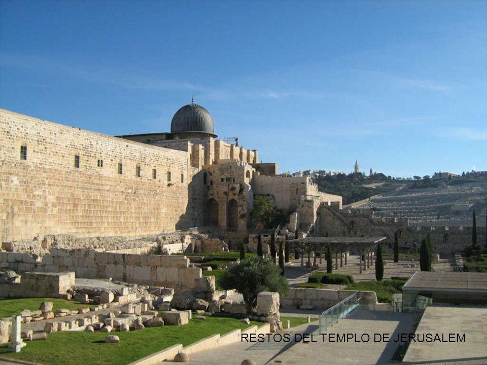 RESTOS DEL TEMPLO DE JERUSALEM