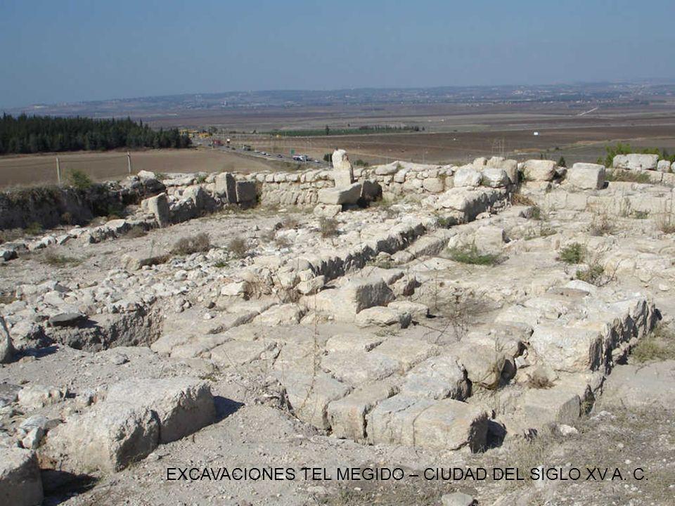 EXCAVACIONES TEL MEGIDO – CIUDAD DEL SIGLO XV A. C.