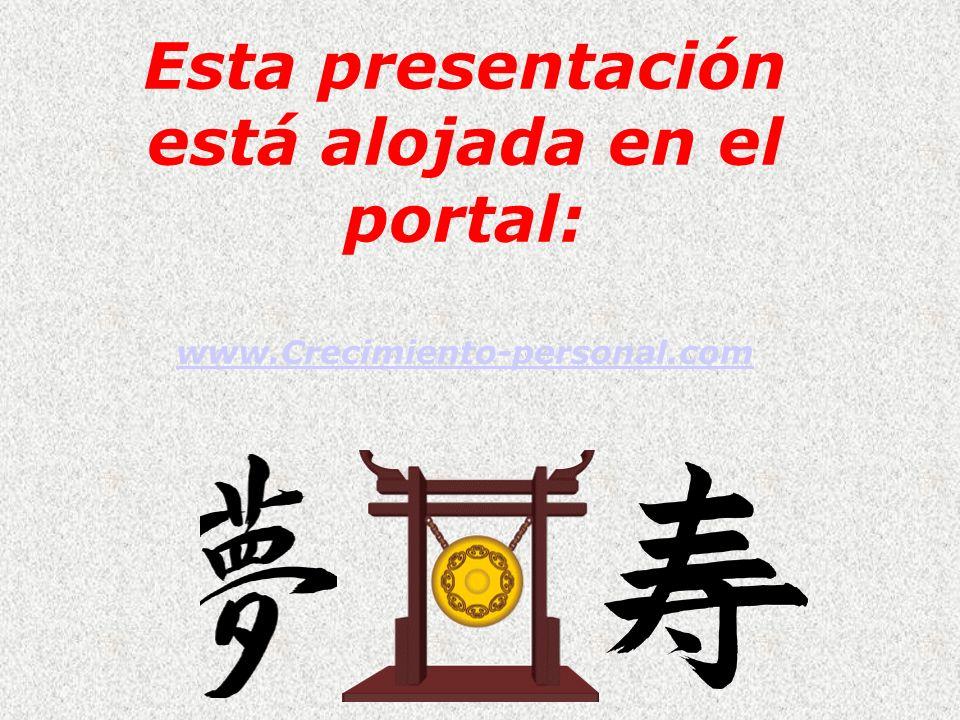 Esta presentación está alojada en el portal: www.Crecimiento-personal.com