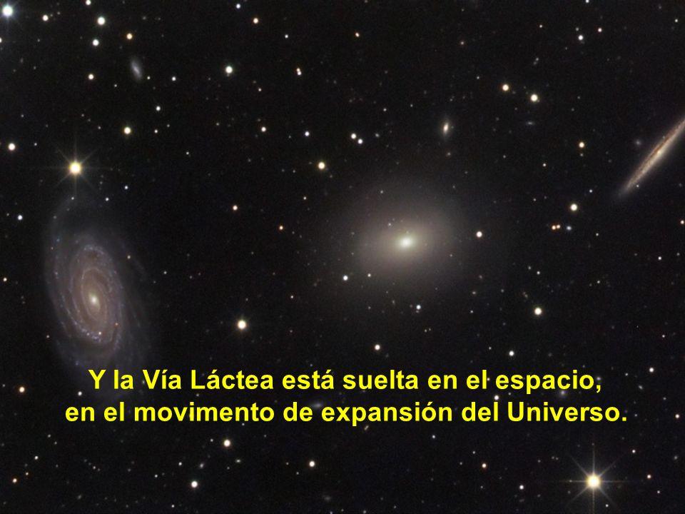 El Sol está a 27.000 años-luz del centro de la galaxia, y tarda 200 millones de años en esa traslación.