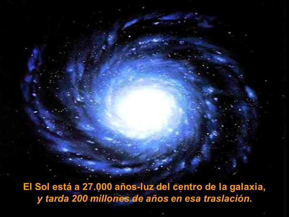 ... a 810.000 Kilómetros por hora! (225 Km. Por segundo) Sistema Solar