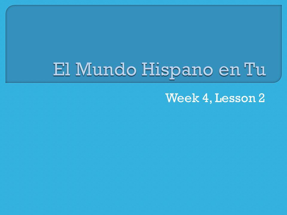Week 4, Lesson 2