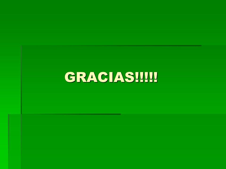 GRACIAS!!!!! GRACIAS!!!!!