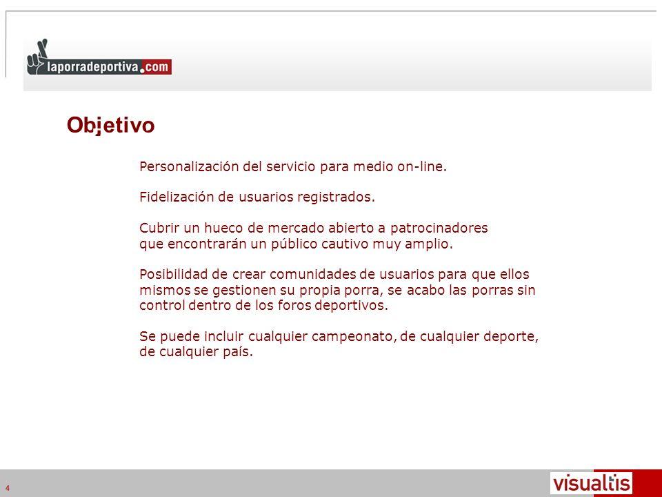 Telecom Media Networks v4.2 4 Objetivo Posicionamiento en medio online.