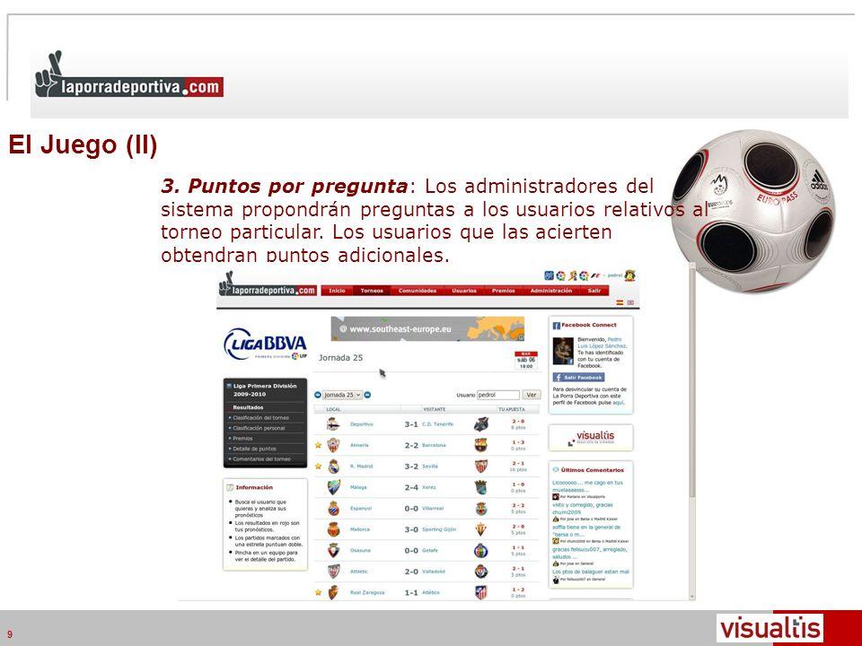 Telecom Media Networks v4.2 9 El Juego (II) 3.