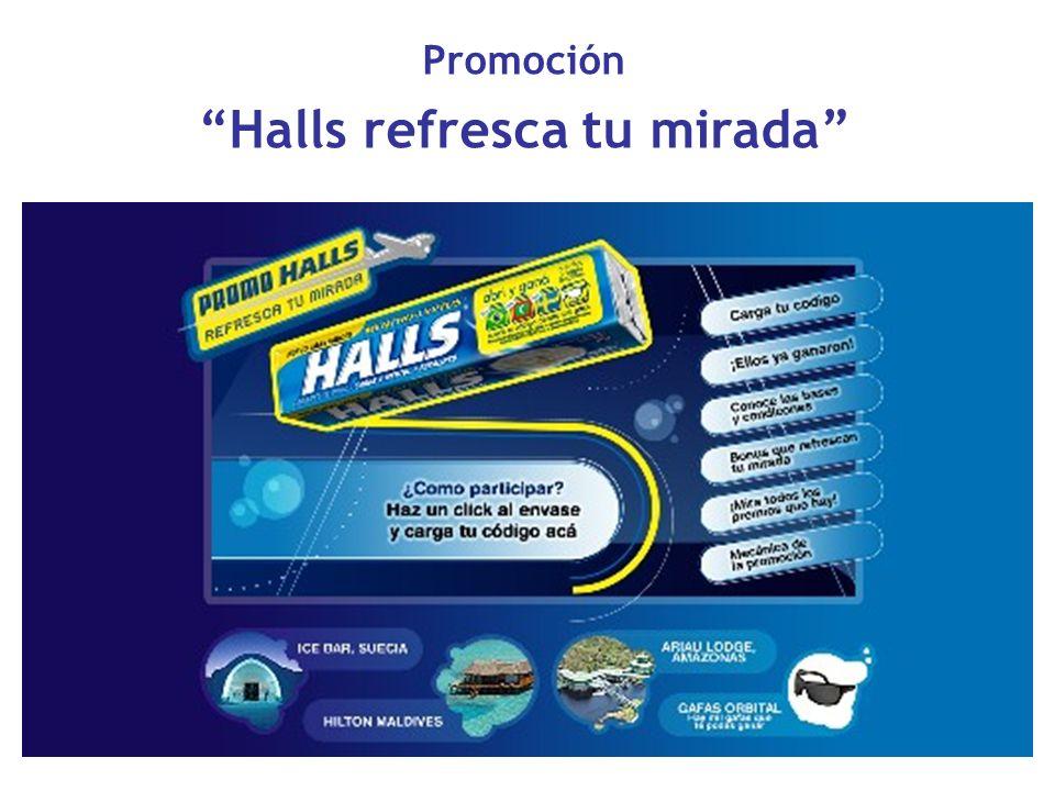 Promoción Halls refresca tu mirada