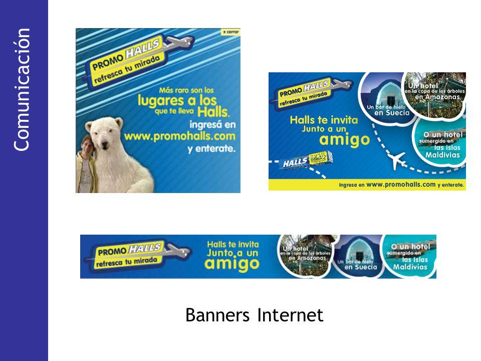 (Via Pública) Banners Internet Comunicación