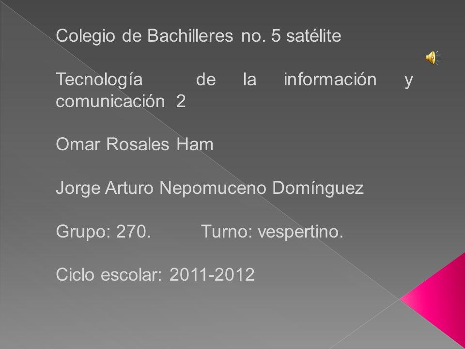 Colegio de Bachilleres no.