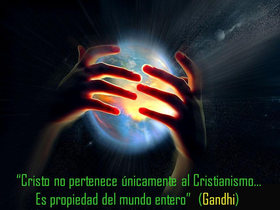 Cristo es la fuente más rica de fuerza espiritual que un hombre puede conocer (Gandhi)