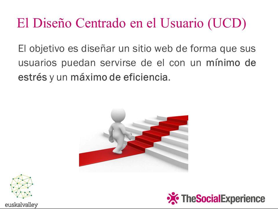El objetivo es diseñar un sitio web de forma que sus usuarios puedan servirse de el con un mínimo de estrés y un máximo de eficiencia.