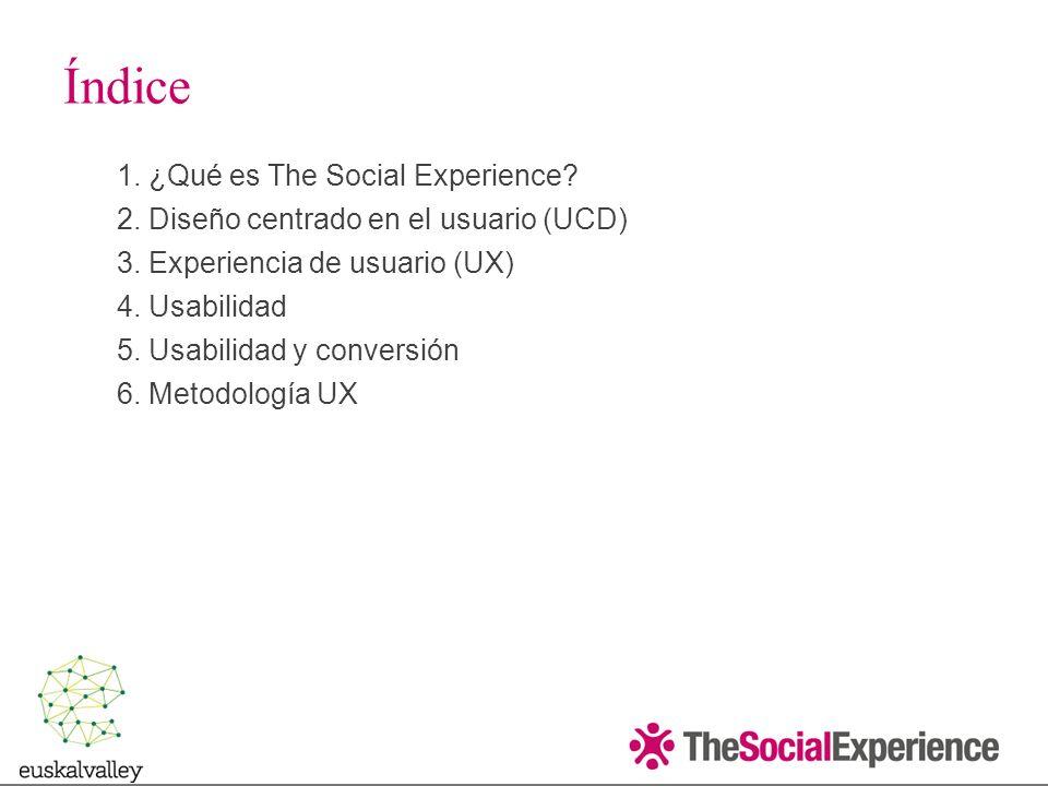 1.¿Qué es The Social Experience.
