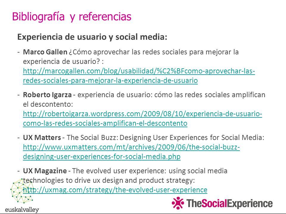 Experiencia de usuario y social media: -Marco Gallen ¿Cómo aprovechar las redes sociales para mejorar la experiencia de usuario.