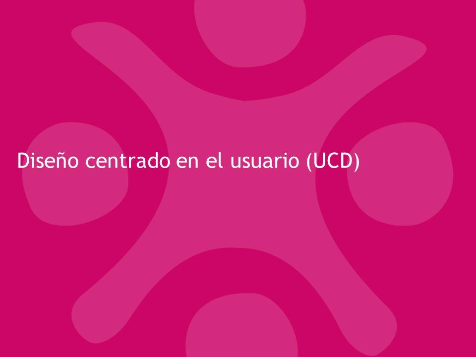 Diseño centrado en el usuario (UCD)